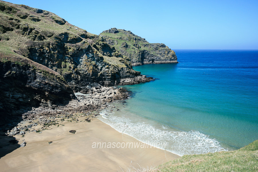 Picture of Bossiney Haven beach